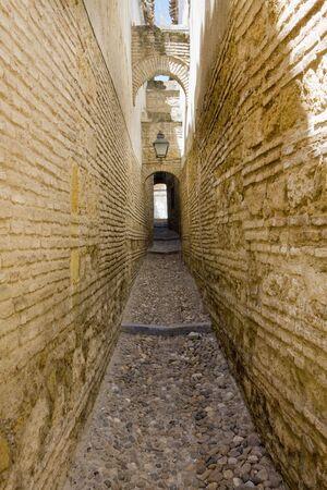 andalusien: Stra�e von Cordoba, Andalusien, Spanien Lizenzfreie Bilder