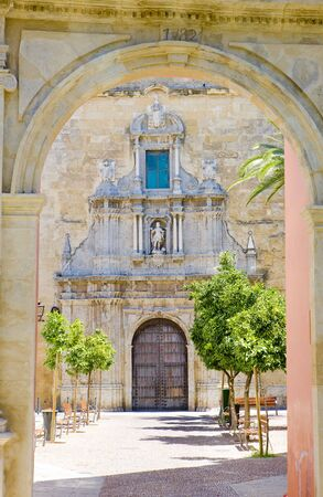 st  francis: St Francis church, Cordoba, Andalusia, Spain Stock Photo