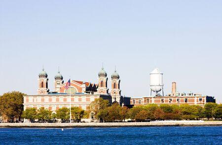 ellis: Immigration Museum, Ellis Island, New York City, USA