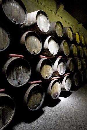 porto: Croft Winery, Porto, Douro Province, Portugal Stock Photo