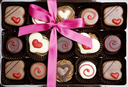 chocolate box Stock Photo - 6400973