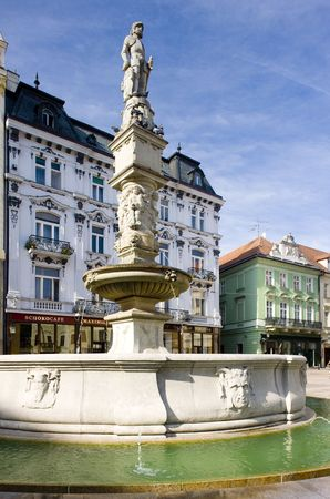 bratislava: Main Square (Hlavne namestie), Bratislava, Slovakia
