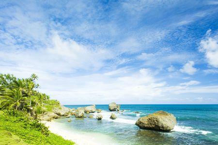 the silence of the world: Bathsheba, East coast of Barbados, Caribbean