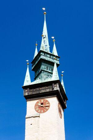 gildhall: detail of town hall, Znojmo, Czech Republic