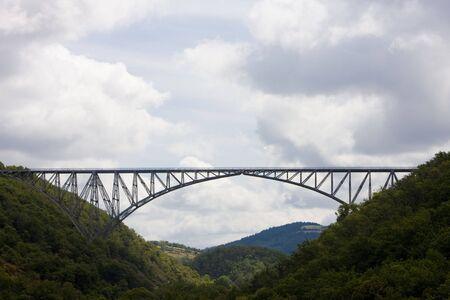 viaducts: Viaur Viaduct, Aveyron Department, France Stock Photo