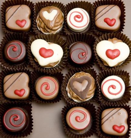 nutritive: chocolate candies