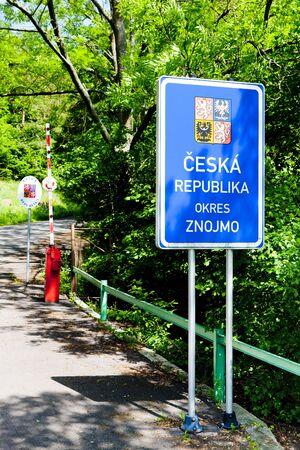 border between Czech Republic and Austria Stock Photo - 6498781
