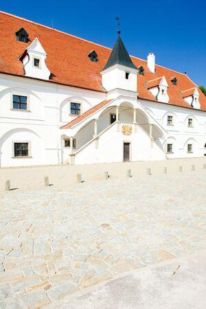 znojemsko: renaissance water mill, Slup, Czech Republic Stock Photo