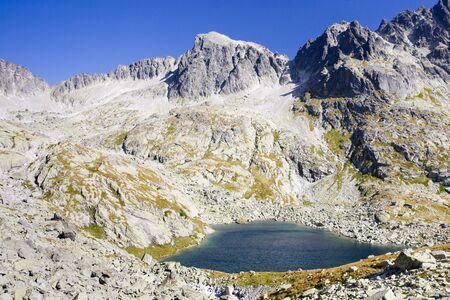 tatras tatry: Five Spis Tarns, Vysoke Tatry (High Tatras), Slovakia