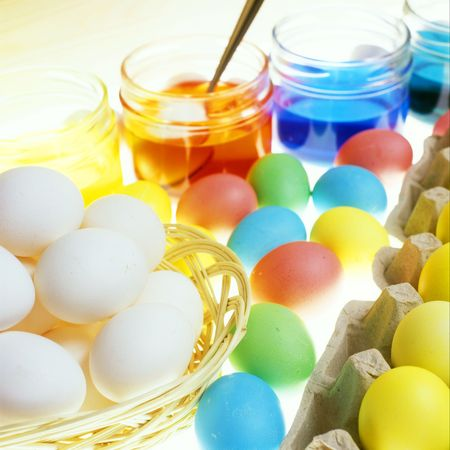 coloration: Easter eggs coloration