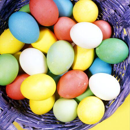 Easter eggs photo