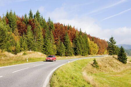 road in Nizke Tatry (Low Tatras), Slovakia Stock Photo - 6668704