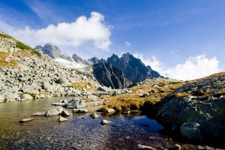 tatras tatry: Zbojnicke Tarn, Vysoke Tatry (High Tatras), Slovakia