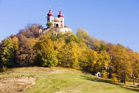peregrinación: Iglesia de peregrinaci�n en el Calvario, Eslovaquia Banska Stiavnica