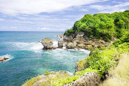 Baie des archers de la Barbade ; des Caraïbes