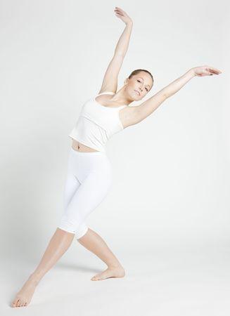 bailarina ballet: bailar�n de ballet