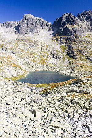 tarn: Five Spis Tarns, Vysoke Tatry (High Tatras), Slovakia