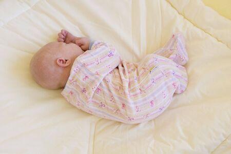 sleeping baby Stock Photo - 6879061
