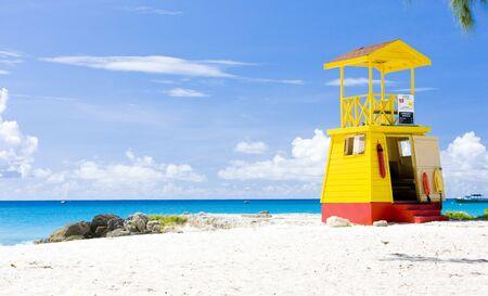 barbados: cabin on the beach, Enterprise Beach, Barbados, Caribbean