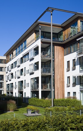 apartment building, Kristiansand, Norway