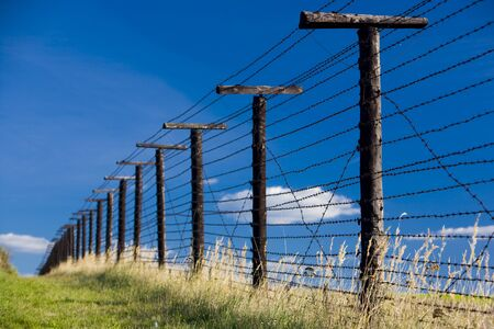 remains of iron curtain, Cizov, Czech Republic Stock Photo - 6939038