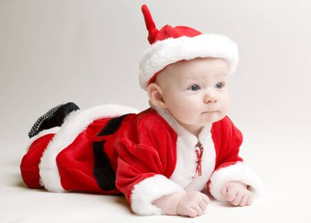 little Santa Claus photo