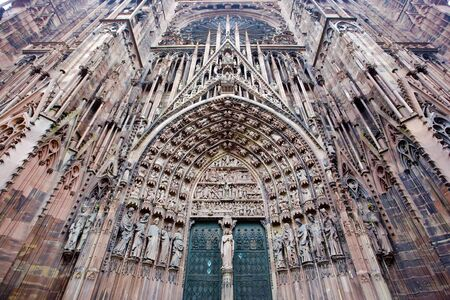 Cathedral Notre Dame, Strasbourg, Alsace, France Stock Photo - 6939115