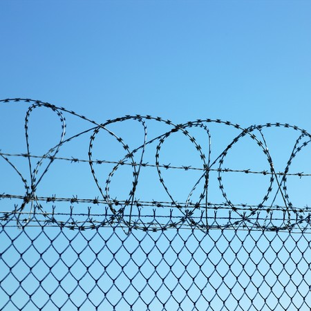 barbed wires Stock Photo - 6939142