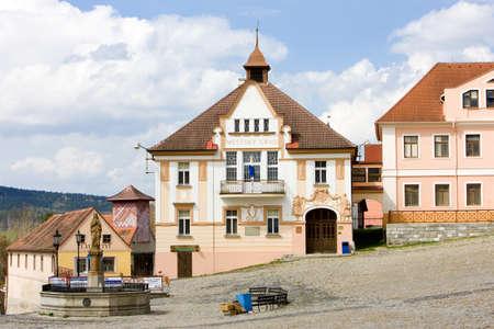 gildhall: Nepomuk, Czech Republic