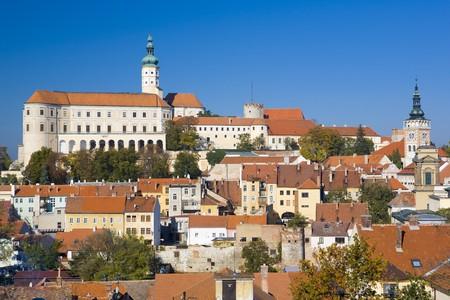 buidings: Mikulov, Czech Republic