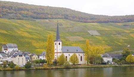 moseltal: Piesport, Rheinland Pfalz, Germany