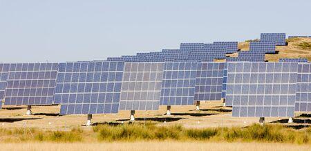 extremadura: solar panels, Extremadura, Spain