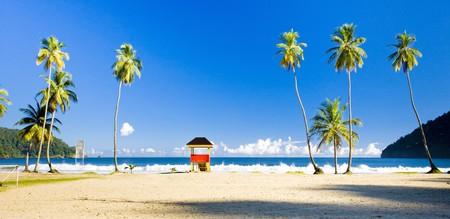 the silence of the world: cabin on the beach, Maracas Bay, Trinidad