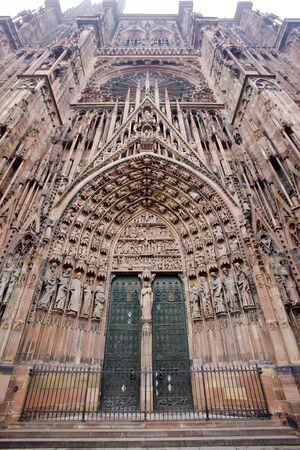 Cathedral Notre Dame, Strasbourg, Alsace, France Stock Photo - 7166560