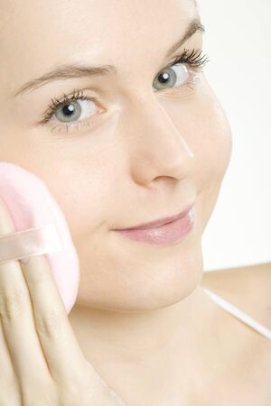portrait of woman's make up Stock Photo - 7162242