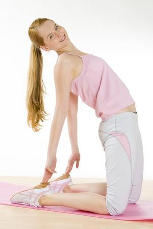 exercising woman Stock Photo - 7162297