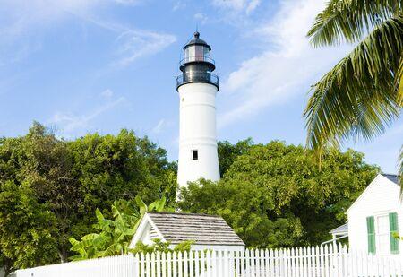 palmtrees: The Key West Lighthouse, Florida Keys, Florida, USA