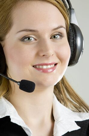 operator's portrait Stock Photo - 7343124