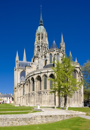 basse normandy: Cathedral Notre Dame, Bayeux, Normandy, France