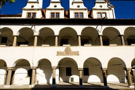gildhalls: former town hall, Square of Master Paul, Levoca, Slovakia