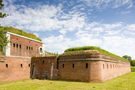fortification: fortification, Zamosc, Poland Stock Photo