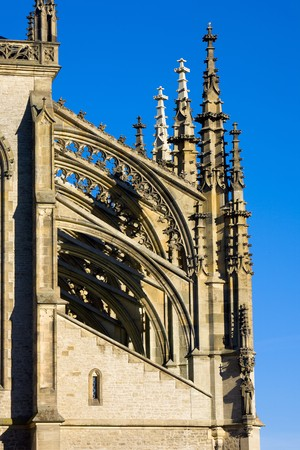 detail of Cathedral of St. Barbara, Kutna Hora, Czech Republic photo