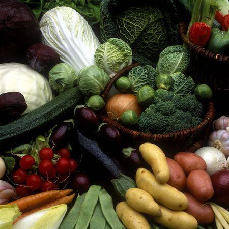 aliments: vegetables still life