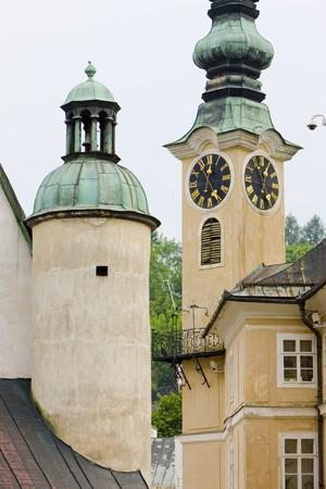 gildhalls: Banska Stiavnica, Slovakia Stock Photo