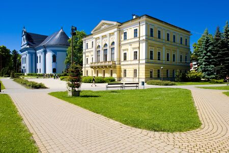 gildhalls: Town Hall Square, Spisska Nova Ves, Slovakia
