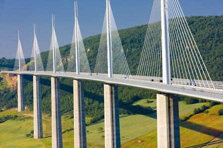 Viaduc de Millau, France Aveyron D?partement