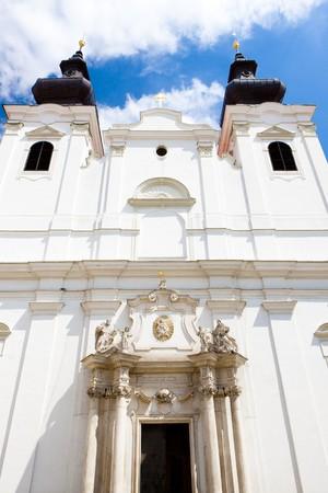 znojmo region: Church of Saint Cross, Znojmo, Czech Republic