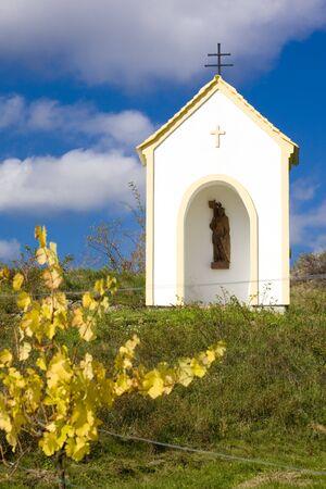 znojmo region: chapel near Hnanice, Znojmo Region, Czech Republic