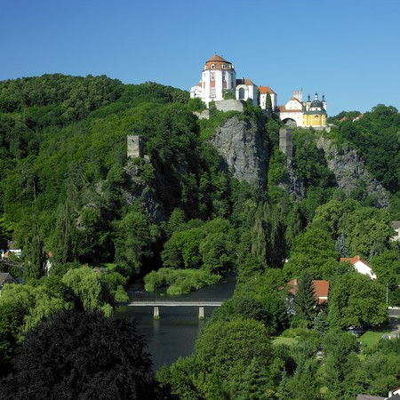 nad': Vranov nad Dyji chateau, Czech Republic