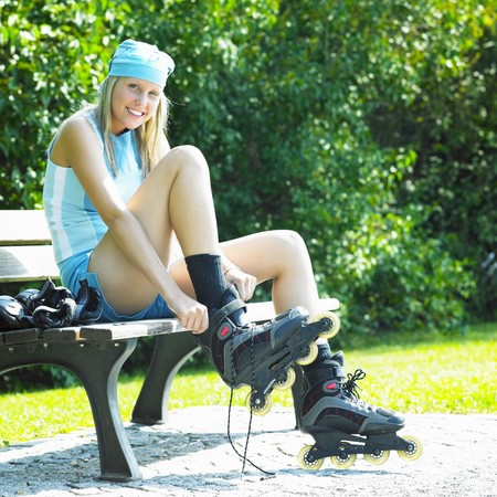 inline skater photo